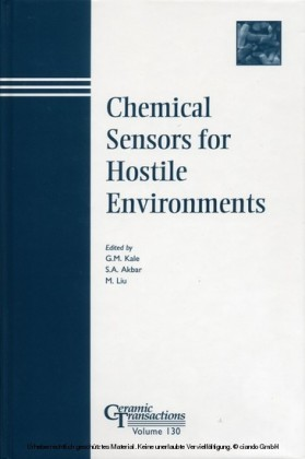Chemical Sensors for Hostile Environments
