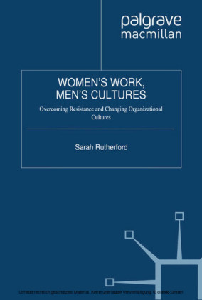 Women's Work, Men's Cultures