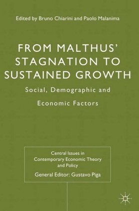 From Malthus' Stagnation to Sustained Growth