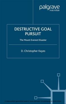 Destructive Goal Pursuit