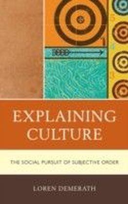 Explaining Culture