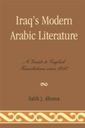 Iraq's Modern Arabic Literature