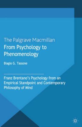 From Psychology to Phenomenology