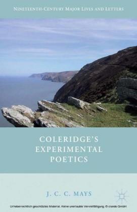 Coleridge's Experimental Poetics