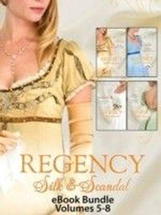 Regency Silk & Scandal eBook Bundle Volumes 5-8 (Mills & Boon eBook Bundles)