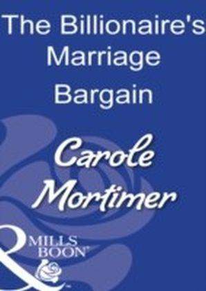 Billionaire's Marriage Bargain