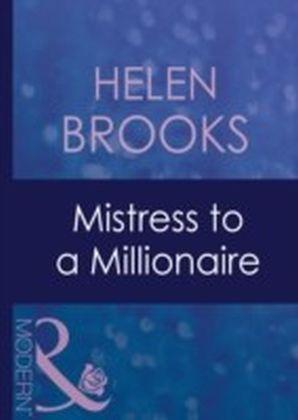 Mistress to a Millionaire (Mills & Boon Modern)