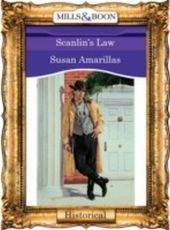 Scanlin's Law (Mills & Boon Vintage 90s Historical)