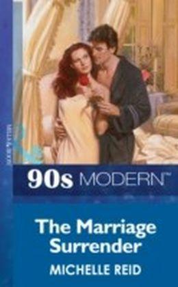 Marriage Surrender (Mills & Boon Vintage 90s Modern)