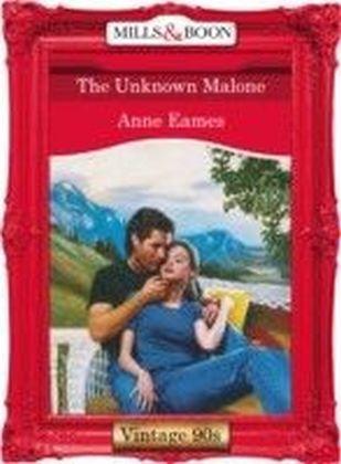 Unknown Malone (Mills & Boon Vintage 90s Desire)