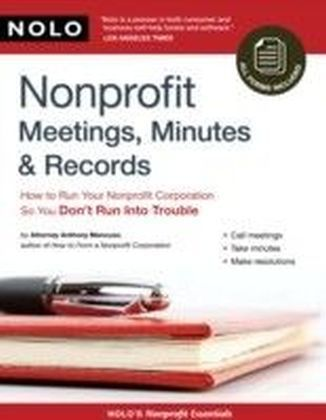 Nonprofit Meetings, Minutes & Records