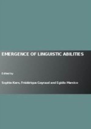 Emergence of Linguistic Abilities