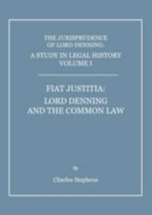 Study in Legal History Volume I