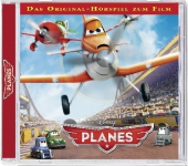 Disney Planes, 1 Audio-CD Cover