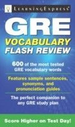 GRE Vocabulary Flash Review