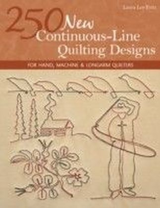 250 New Continuous-Line Quilting Designs