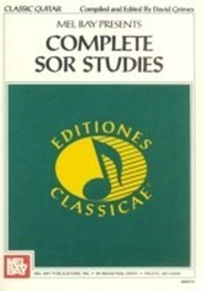 Complete Sor Studies for Guitar