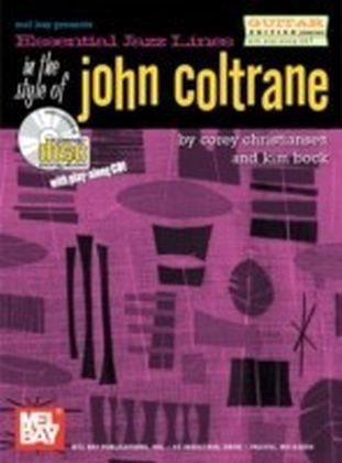 Essential Jazz Lines in the Style of John Coltrane, Guitar Edition