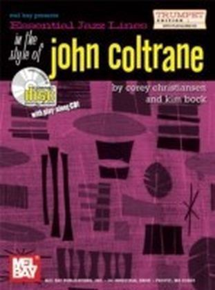 Essential Jazz Lines in the Style of John Coltrane, Trumpet Edition