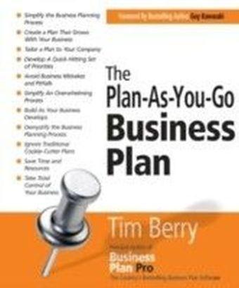 Plan-As-You-Go Business Plan