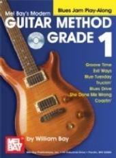 """Modern Guitar Method"" Series Grade 1, Blues Jam Play-Along"