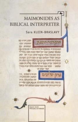 Maimonides as a Biblical Interpreter