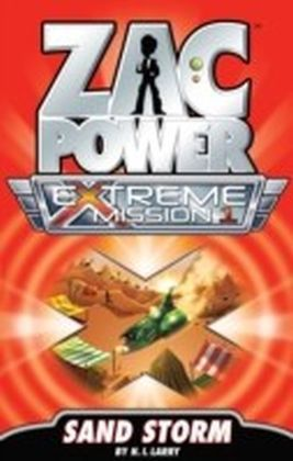 Zac Power Extreme Mission - Sand Storm
