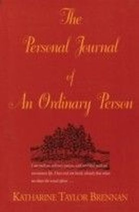 Personal Journal of an Ordinary Person