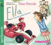 Ella und das große Rennen, 3 Audio-CDs Cover