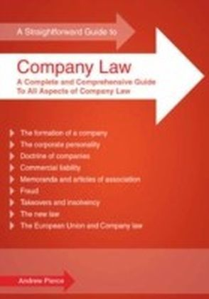 Straightforward Guide to Company Law