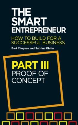 Smart Entrepreneur (Part III: Proof of concept)