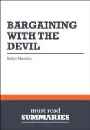 Summary: Bargaining With The Devil Robert Mnookin