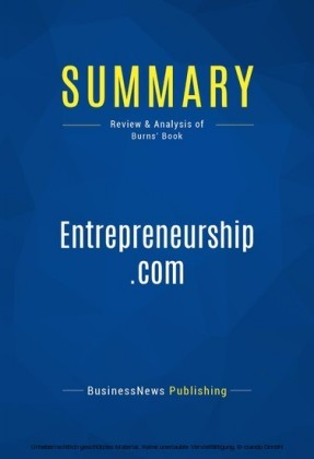 Summary: Entrepreneurship.com - Tim Burns