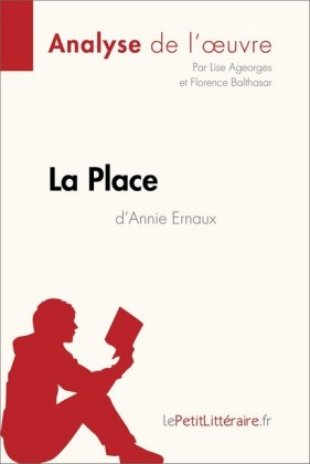 La Place de Annie Ernaux (Fiche de lecture)