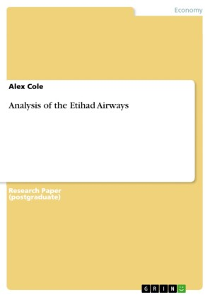 Analysis of the Etihad Airways