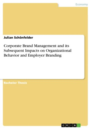 Corporate Brand Management and its Subsequent Impacts on Organizational Behavior and Employer Branding