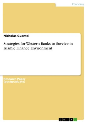 Strategies for Western Banks to Survive in Islamic Finance Environment