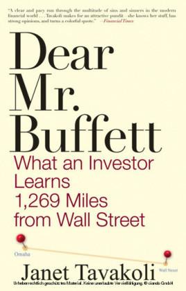 Dear Mr. Buffett