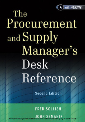 The Procurement and Supply Manager's Desk Reference