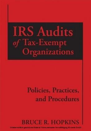 IRS Audits of Tax-Exempt Organizations,