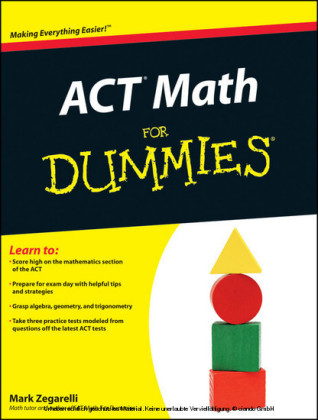 ACT Math For Dummies