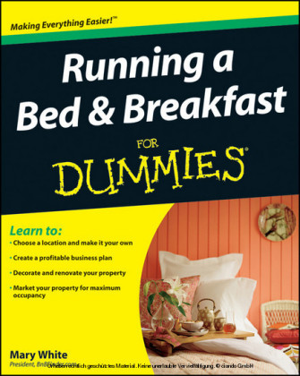 Running a Bed and Breakfast For Dummies