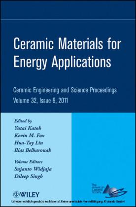 Ceramic Materials for Energy Applications