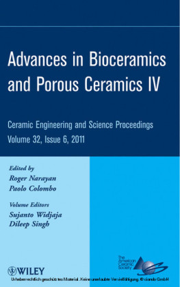 Advances in Bioceramics and Porous Ceramics IV
