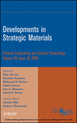 Developments in Strategic Materials