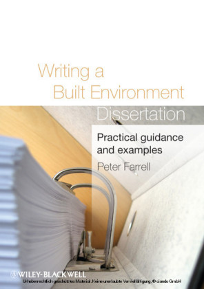 Writing a Built Environment Dissertation