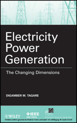 Electricity Power Generation