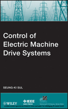 Control of Electric Machine Drive Systems