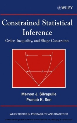 Constrained Statistical Inference,