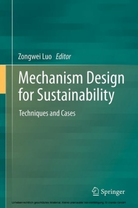 Mechanism Design for Sustainability